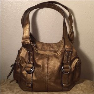 St. John's Bay Bags - ‼️2/$20 SALE‼️Bronze Metallic Bag St. John's Bay